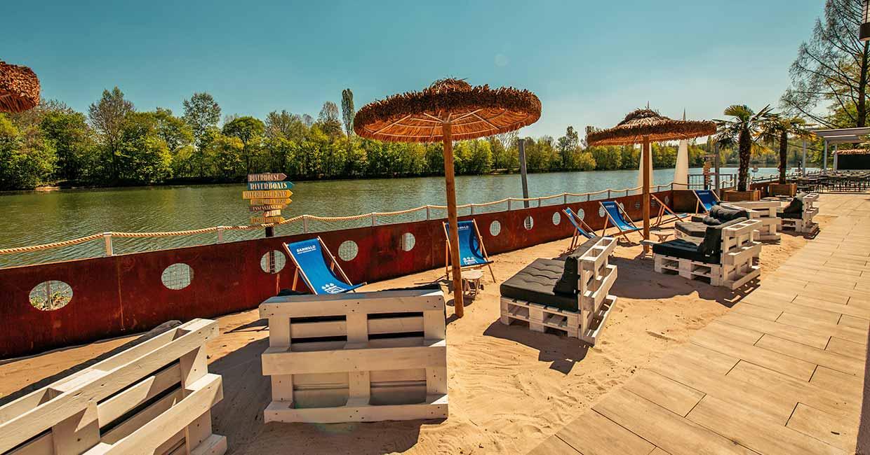 RIVERBEACH - Strand- & Urlaubsfeeling direkt am Wasser