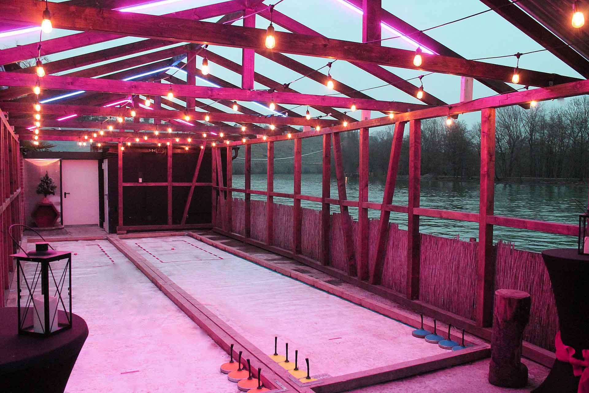 RIVERBOAT AREA - Die wandelbare Location auch für Winter-Events